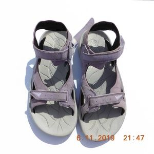 Columbia Sunracer Sandal Lavender/Grey